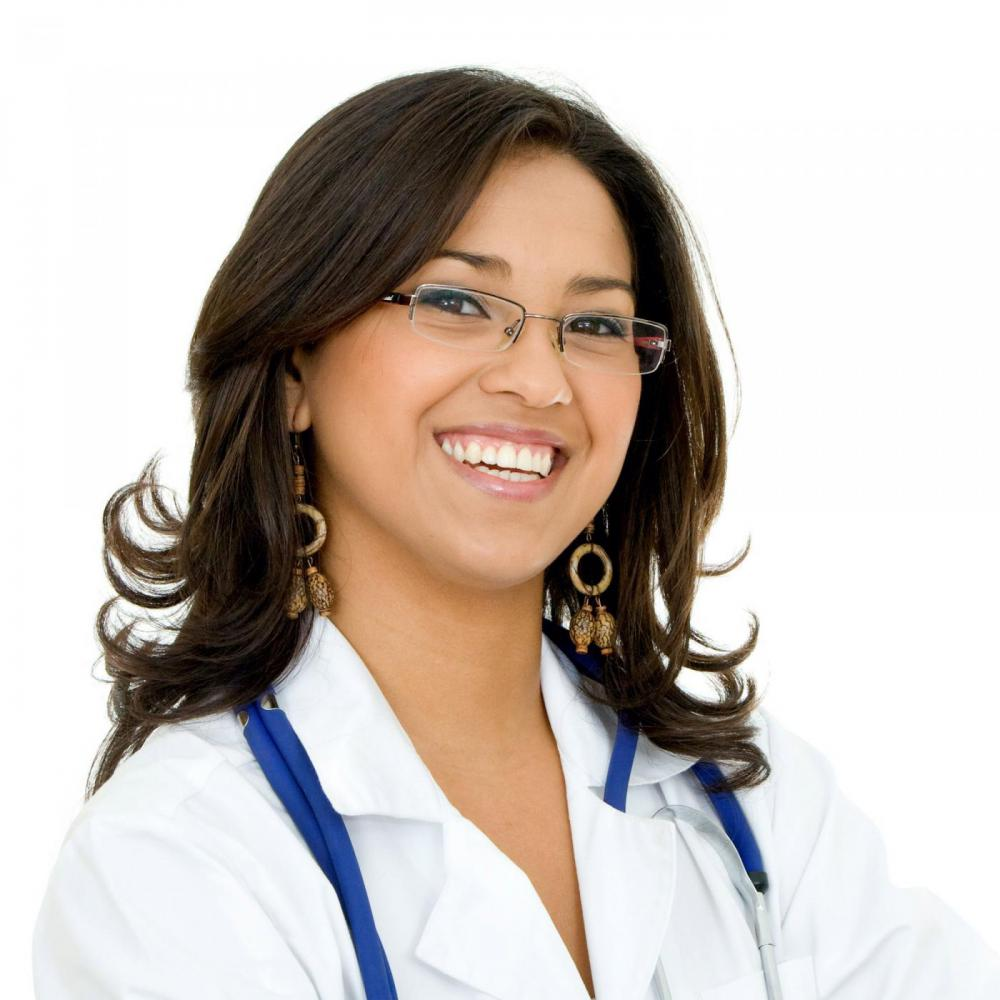 Picture of a Female Doctor